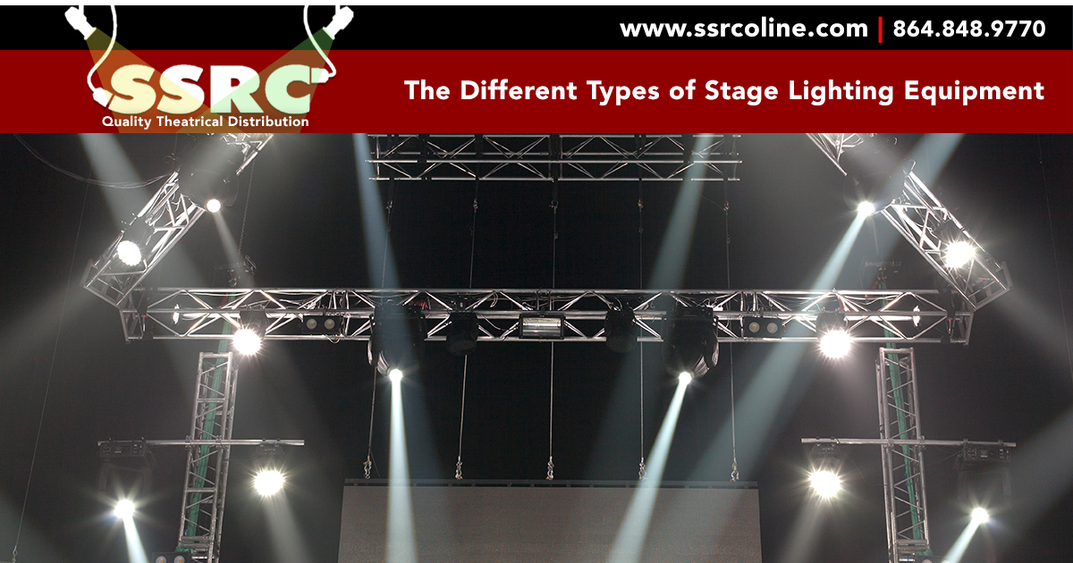 The Diffe Types Of Stage Lighting Equipment Ssrc Online