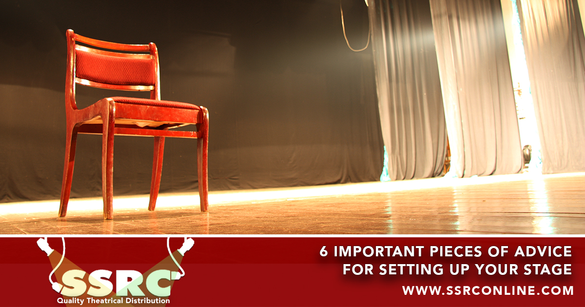 6 Important Pieces of Advice for Setting up Your Stage