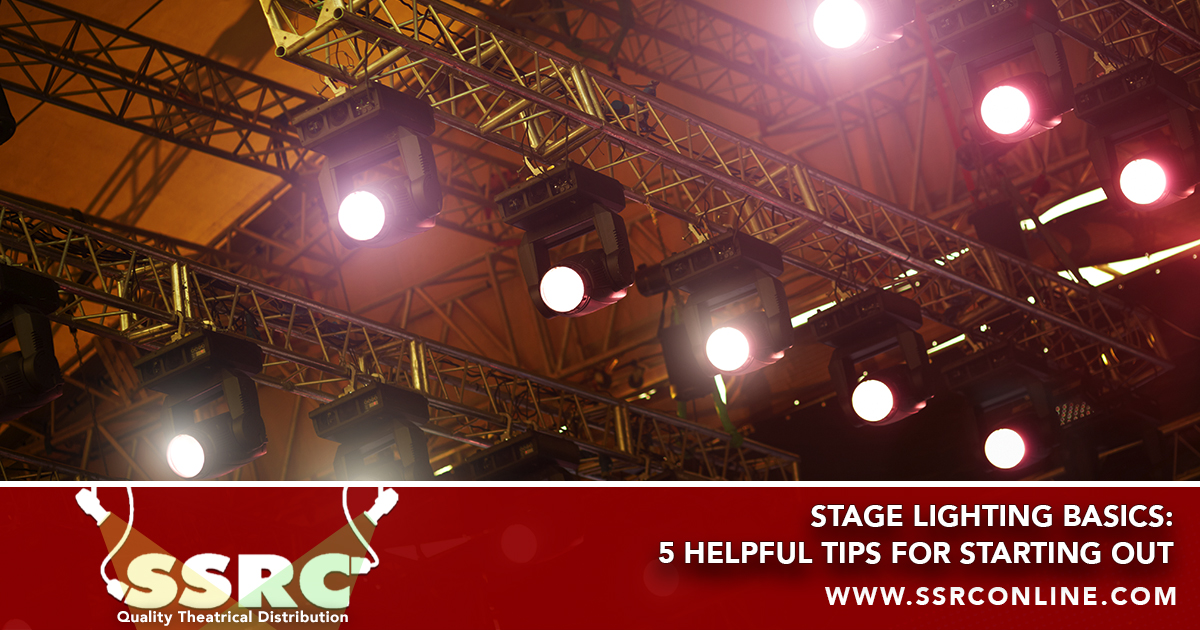 Stage Lighting Basics: 5 Helpful Tips For Starting Out