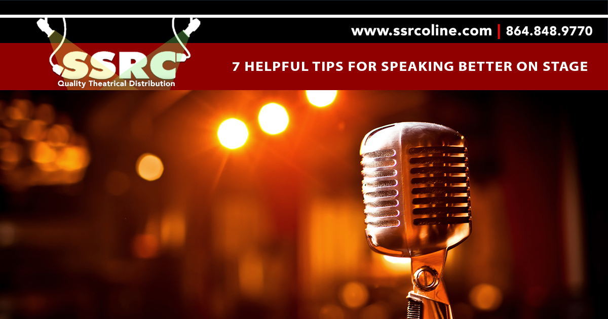 7 Helpful Tips for Speaking Better on Stage