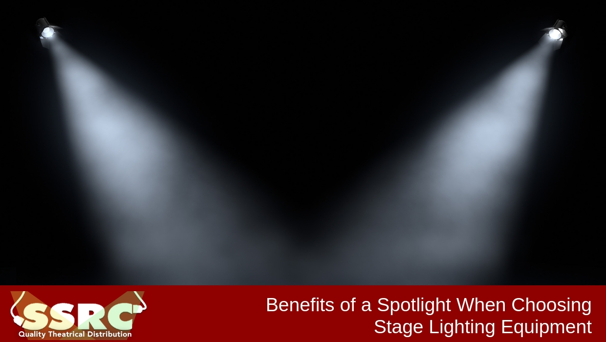 Benefits of a Spotlight When Choosing Stage Lighting Equipment