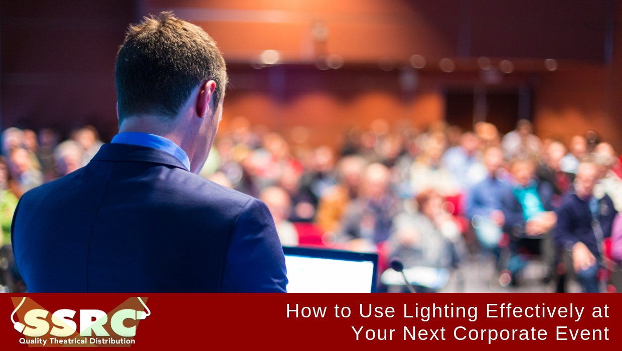 How to Use Lighting Effectively at Your Next Corporate Event
