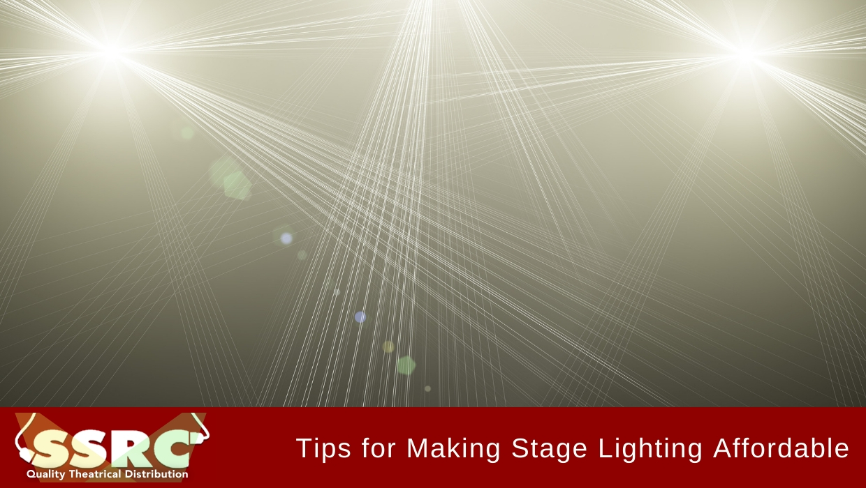 Tips for Making Stage Lighting Affordable