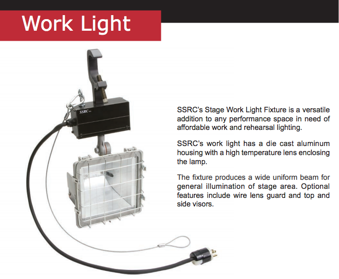 Product Spotlight – Work Light