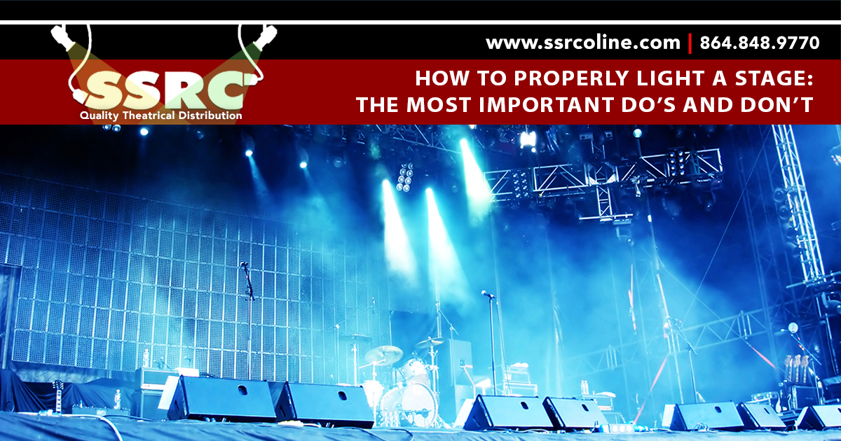 How to Properly Light a Stage: The Most Important Do's and Don'ts