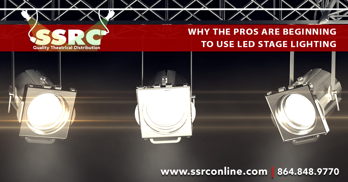 Why the Pros Are Beginning to Use LED Stage Lighting?