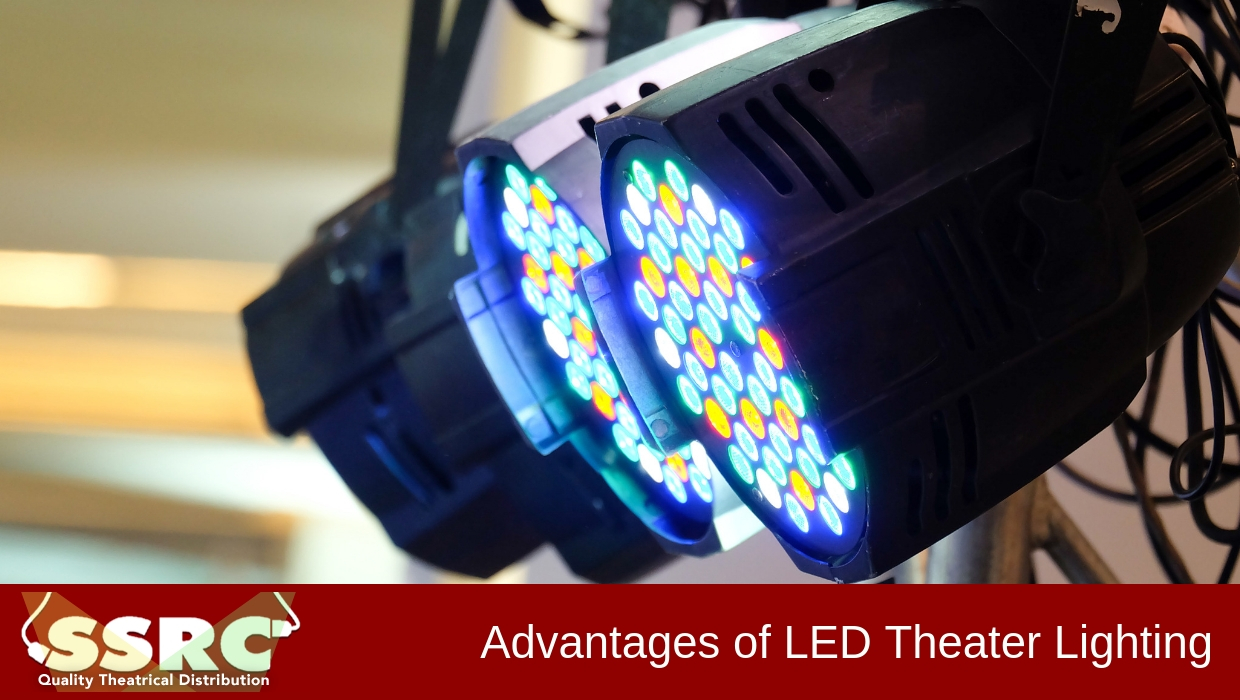 Advantages of LED Theater Lighting