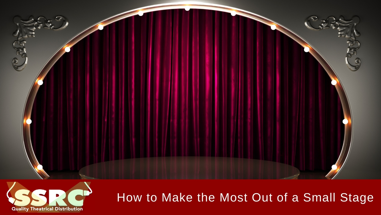 How to Make the Most Out of a Small Stage and Stage Lighting